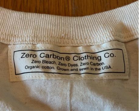 Zero carbon T-shirt